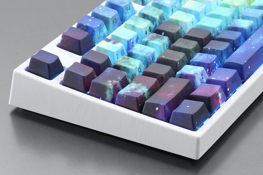 GalaxC PBT All Over Dye-Subbed Keycap Set