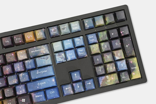 Galaxy X PBT All Over Dye-Subbed Keycap Set
