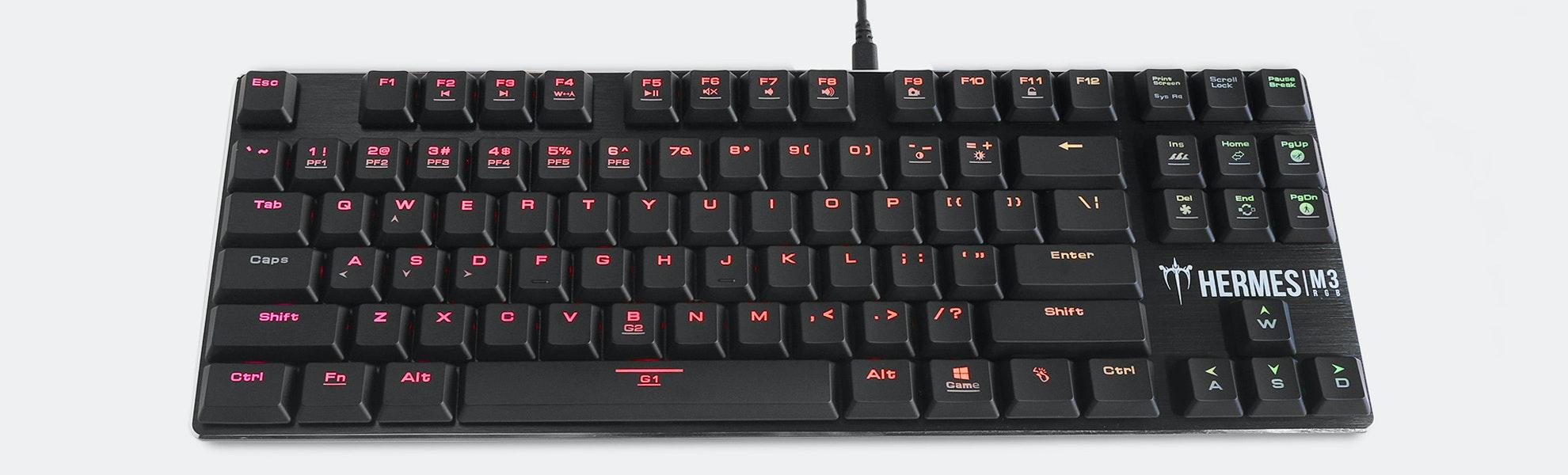 Gamdias Hermes M3 RGB Low-Profile Gaming Keyboard
