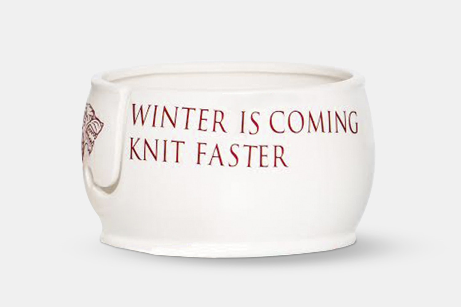 Winter is coming. Knit faster.