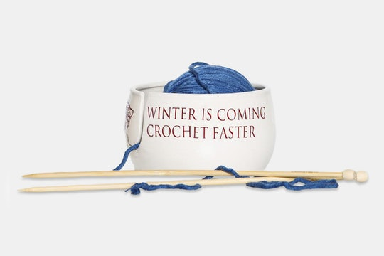 Winter is coming. Crochet faster.