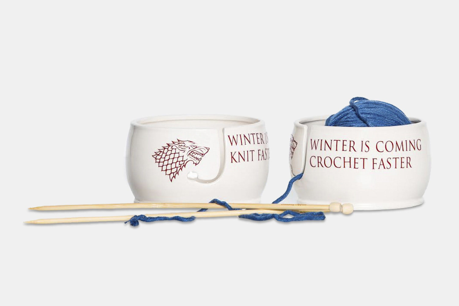 Game of Thrones Ceramic Yarn Bowl