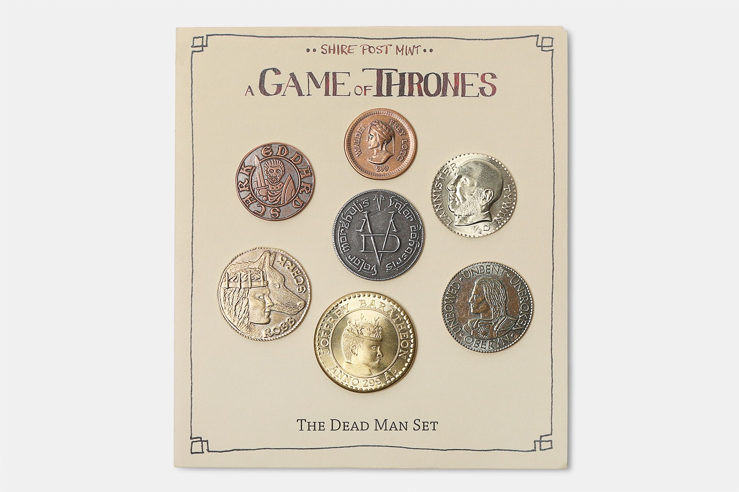 Game of Thrones Collectible Coins: Dead Man's Set