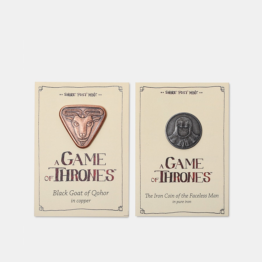 Game of Thrones Collectible Coins (Pick 2)