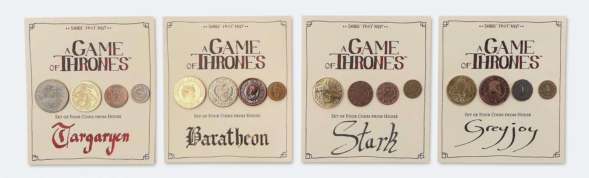 Game of Thrones Collectible Coin Sets