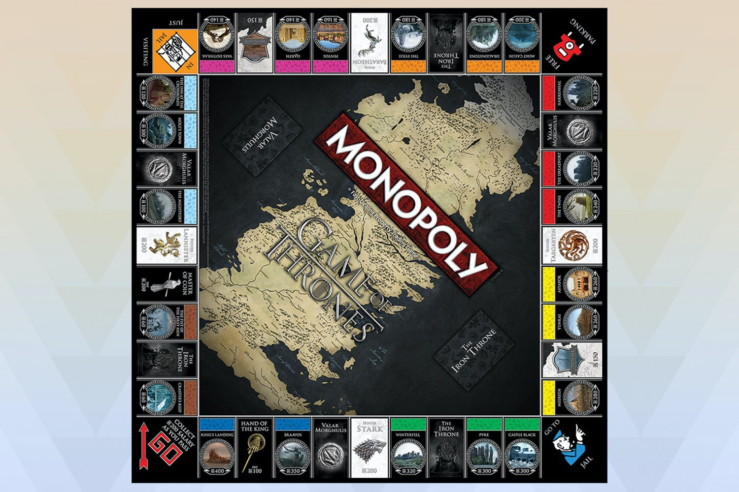 Game of Thrones: Monopoly & Risk Board Game Bundle
