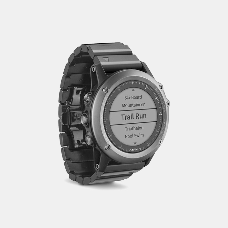 Garmin Fenix 3 Sapphire GPS Watch w/Metal Band