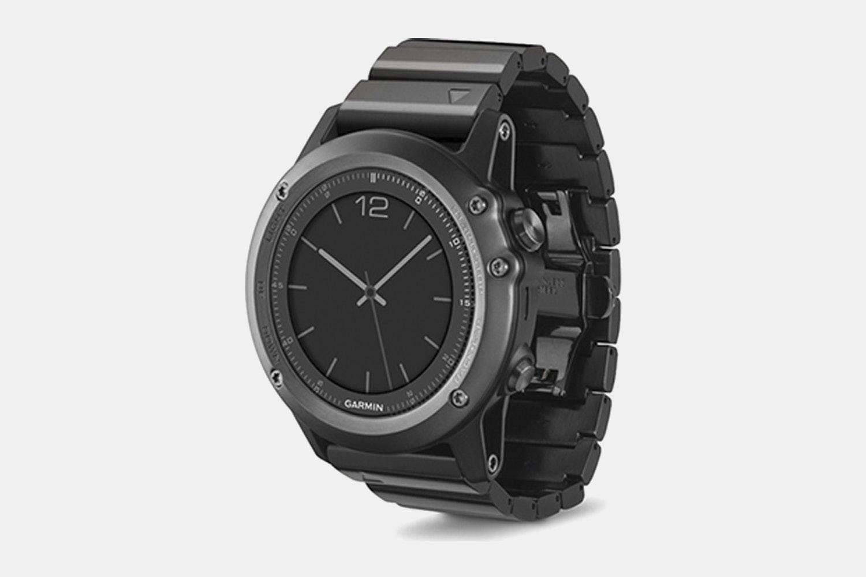 Garmin Fenix 3 Sapphire GPS Watch w/Metal Band