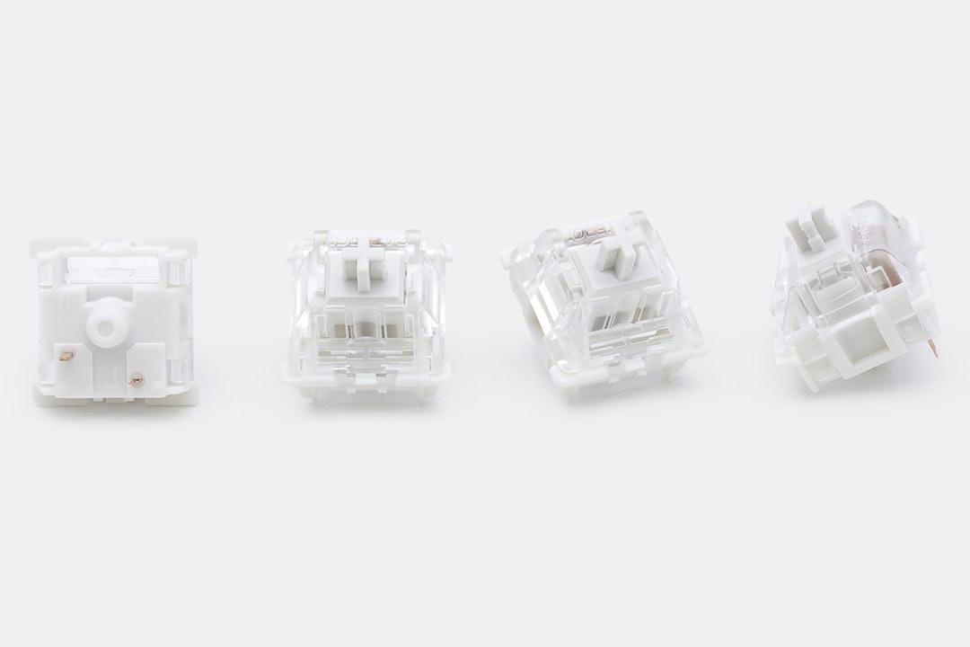Gateron Pro White Custom Mechanical Switches