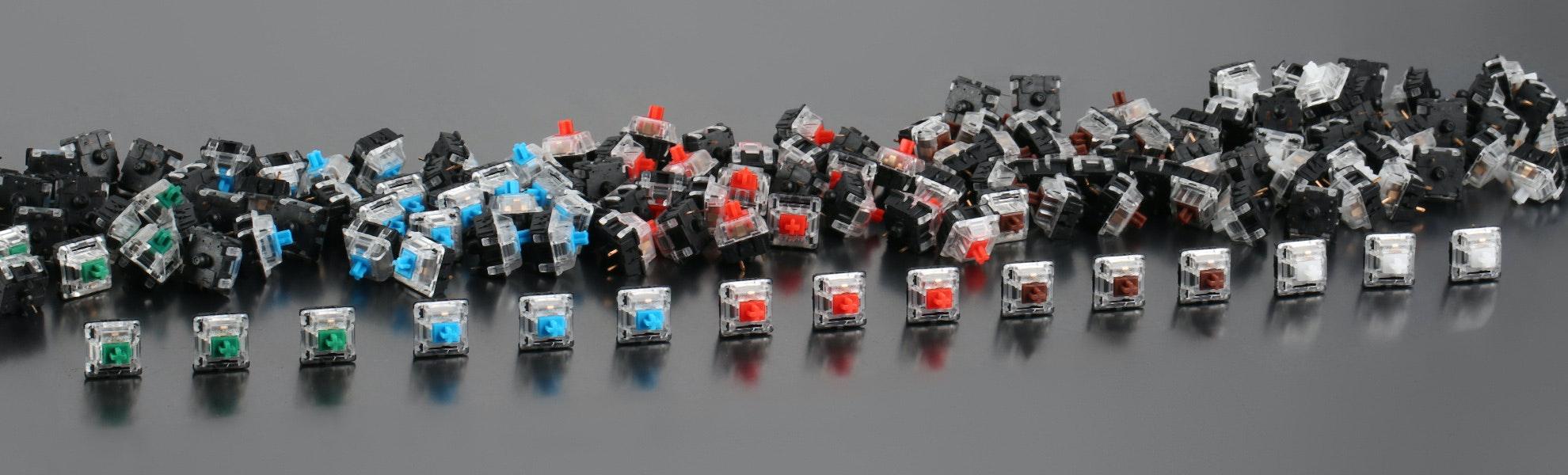 Gateron Switches (120 Pieces)