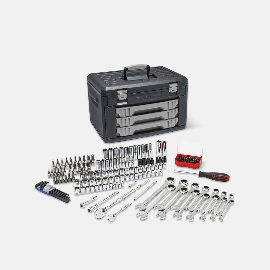 Gearwrench 168-Piece Mechanics Tool Set
