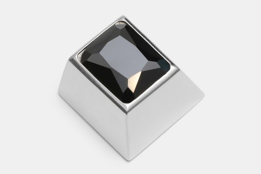 Sadan Silver Gem Backlit Silver Artisan Keycap