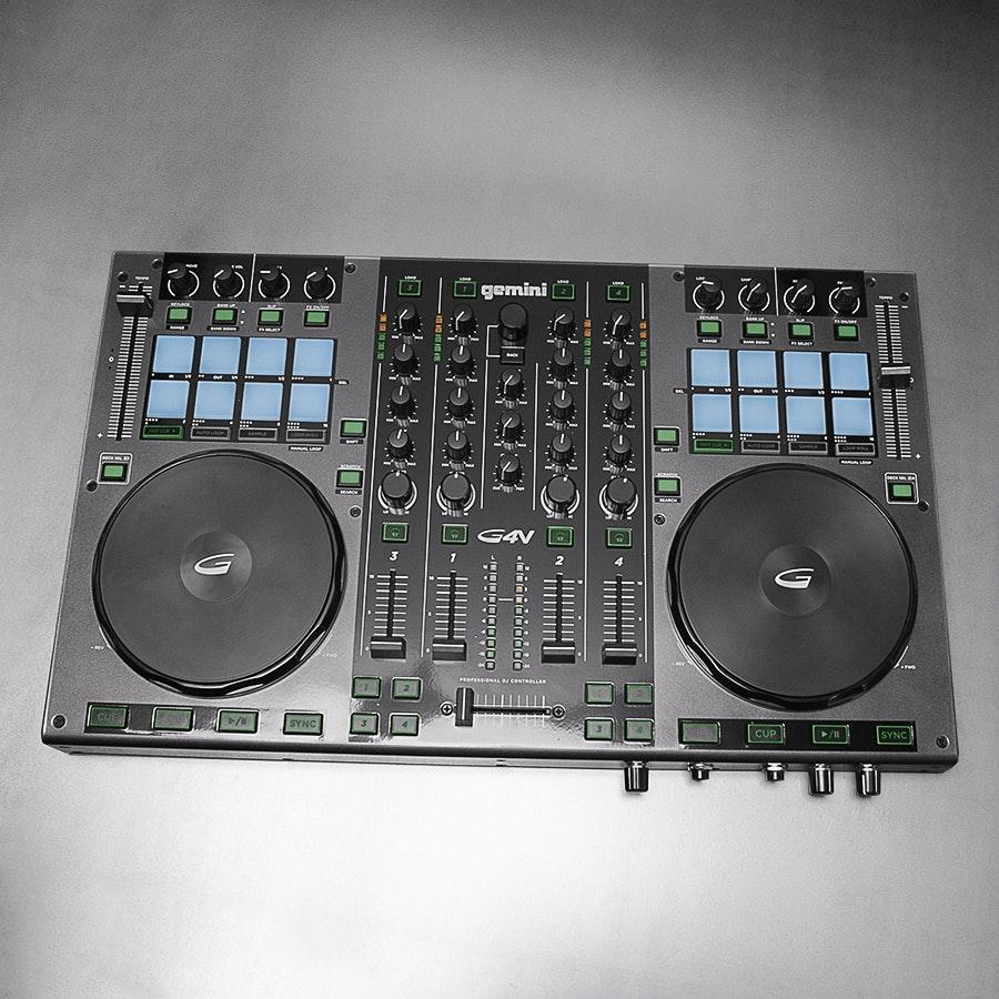 Gemini G4V DJ Controller