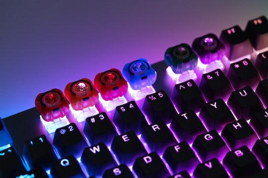 M.7 Infinite Gems Artisan Keycaps