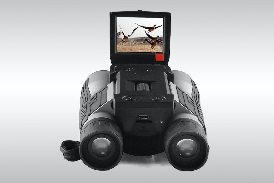 Gemtune ST-608 12x32 Digital Camera Binoculars