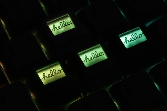 Gen.s Monitor Screen Resin Artisan Keycap