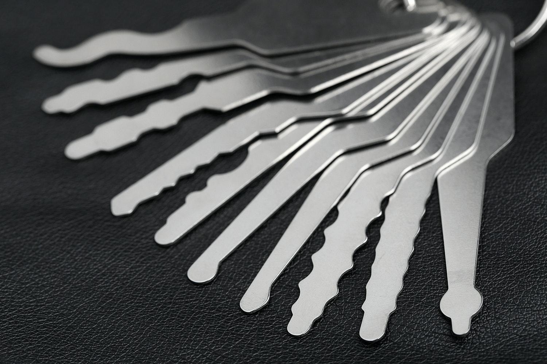Generic Automotive Jiggler Key Set (Stainless)