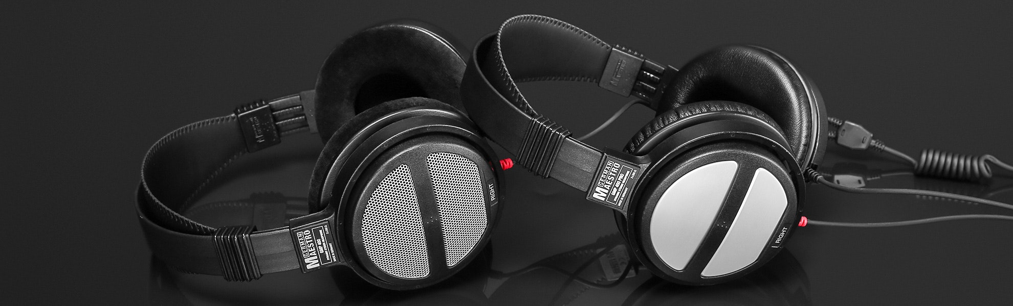 GermanMAESTRO GMP 400 & 450 Pro Headphones