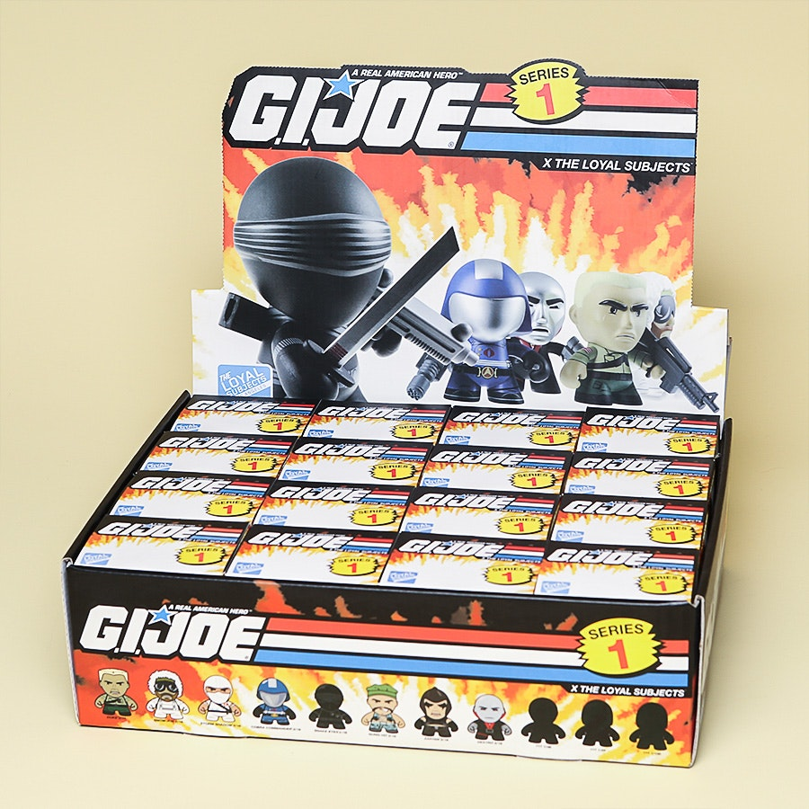 GI Joe Series 1 Blind Box Vinyl Figures