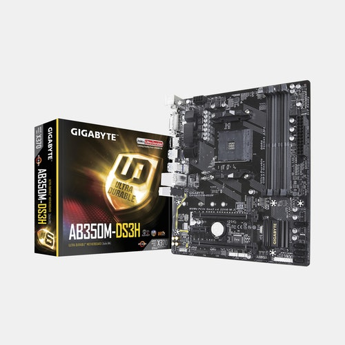 Gigabyte GA-AB350M-DS3H AMD Motherboard | Price & Reviews
