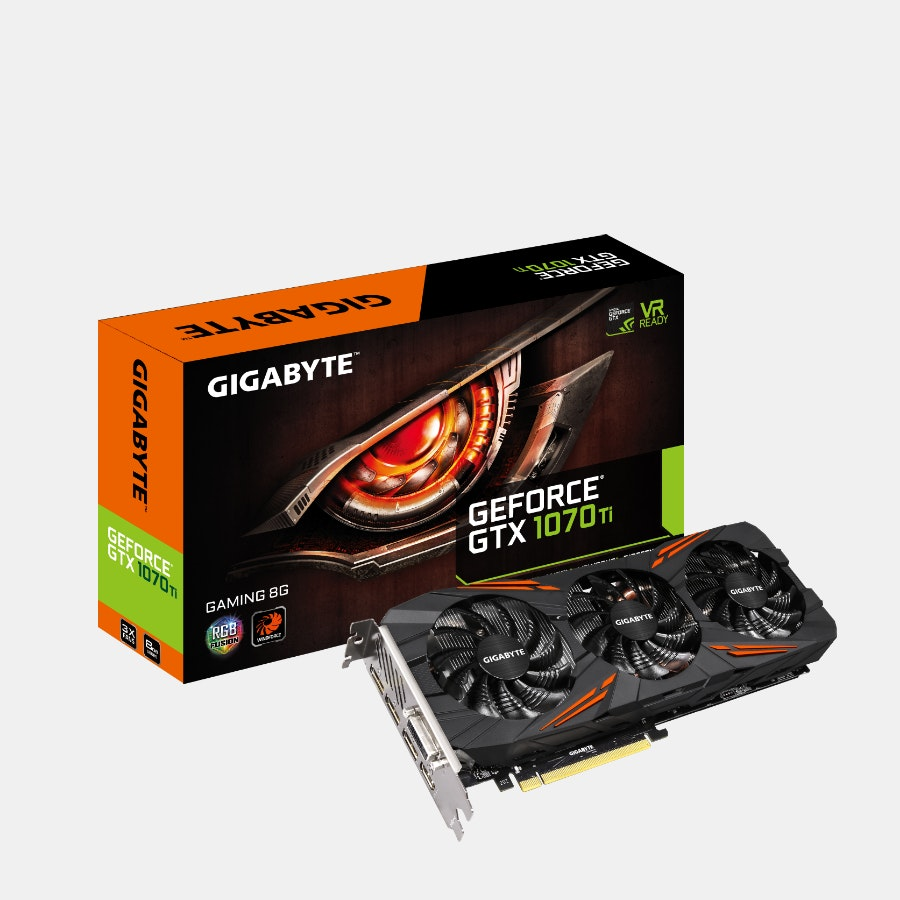Gigabyte GeForce GTX 1070 TI Gaming/Windforce 8G