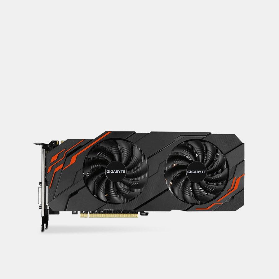 Gigabyte GeForce GTX 1070 WINDFORCE OC 8G REV 2.0