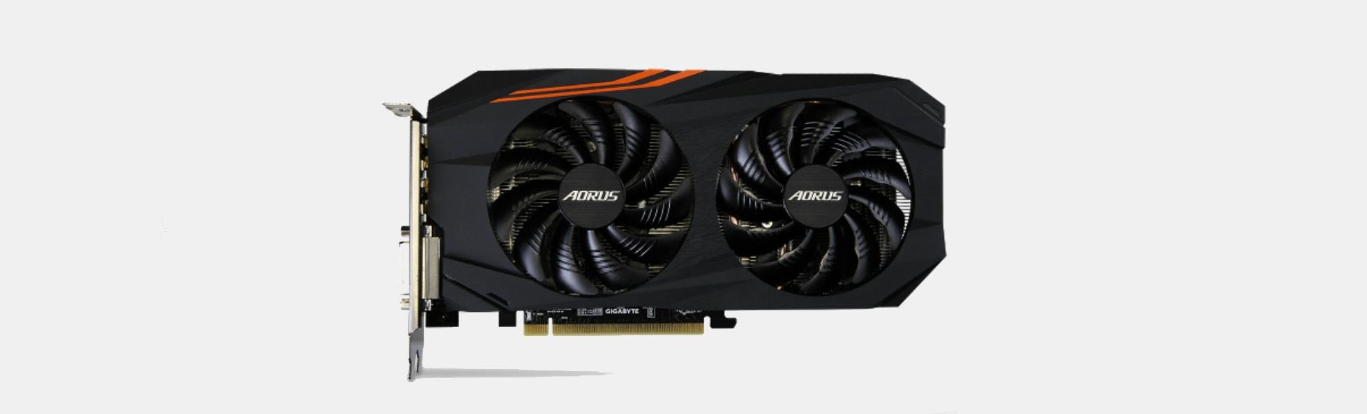 AORUS Radeon RX580 8G Graphics Card