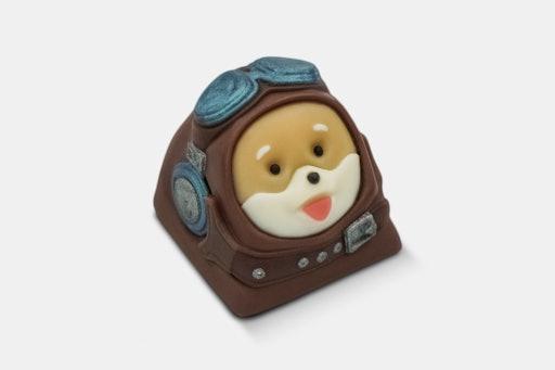 Girlycaps Studios Doggo Resin Artisan Keycap