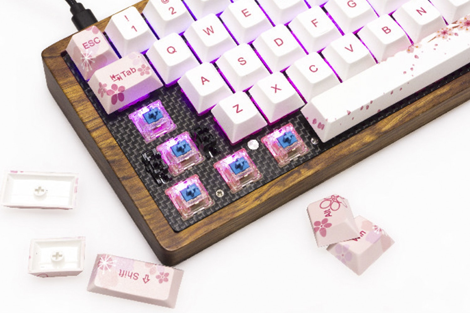 GK64 Custom Mini Mechanical Keyboard