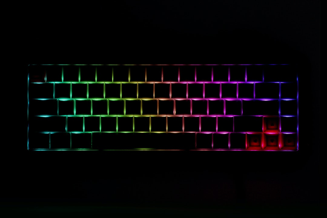 GK68 RGB Aluminum Mechanical Keyboard