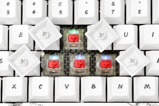 GK84 75% Bluetooth 3.0 Wooden Mechanical Keyboard