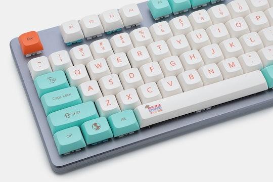 GKs XDA V2 Happy Planet Keycap Set