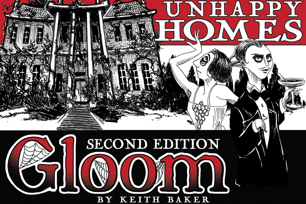 Gloom Second Edition & Expansions Bundle