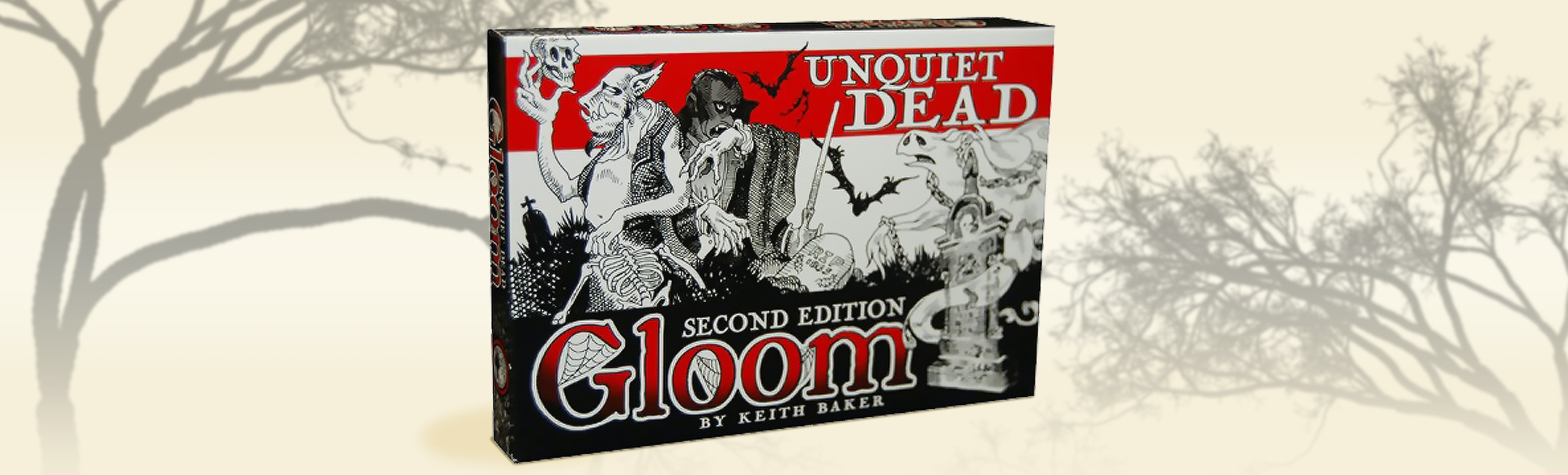 Gloom Unquiet Dead Expansion (2nd Edition)
