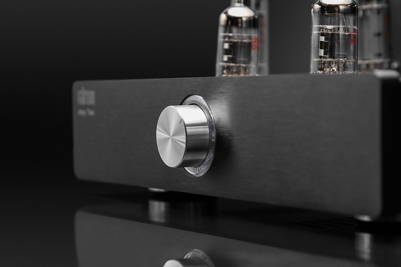 Glow Audio Amp Two Tube Speaker Amplifier