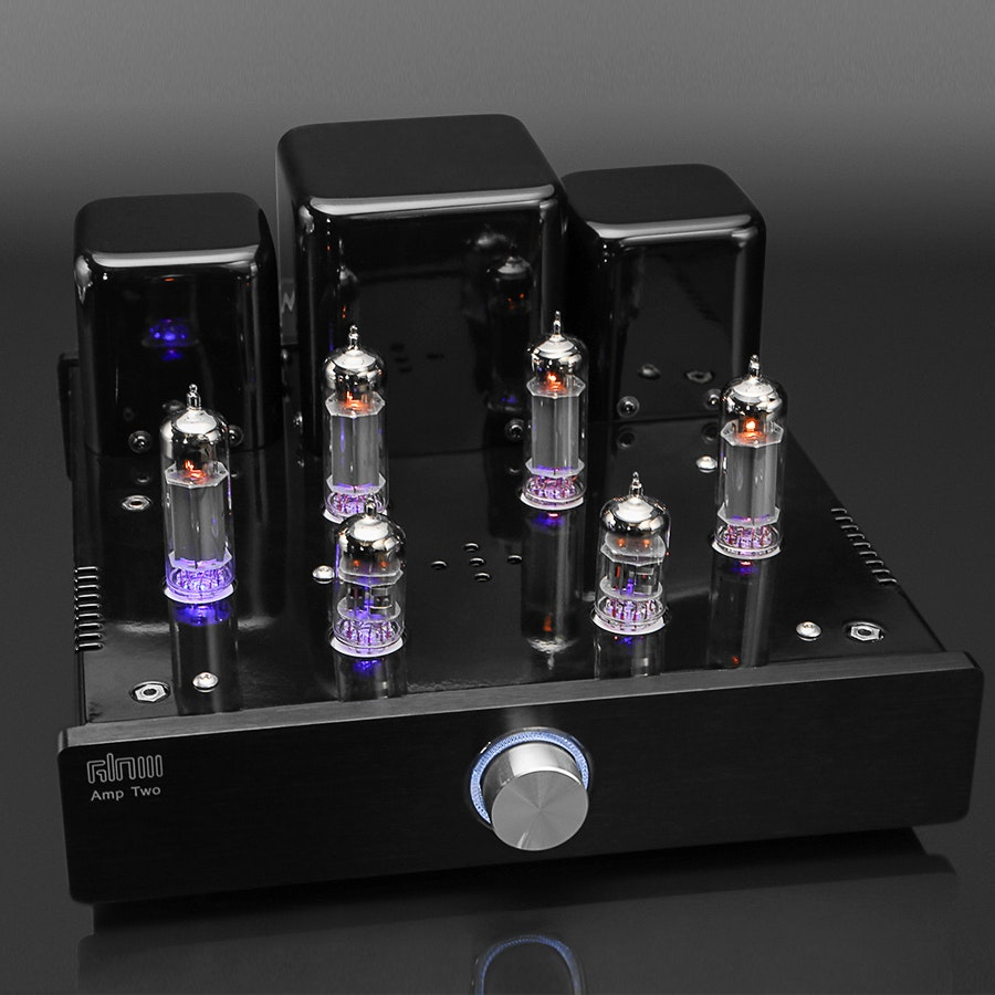 Glow Audio Amp Two Tube Speaker Amplifier