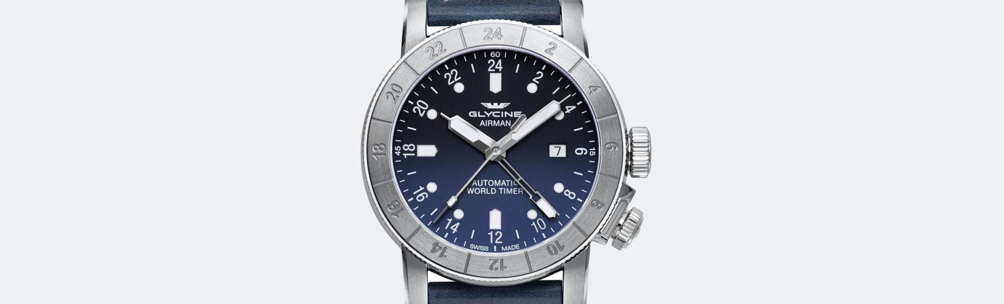 Glycine Airman 44 & 46 Automatic Watch