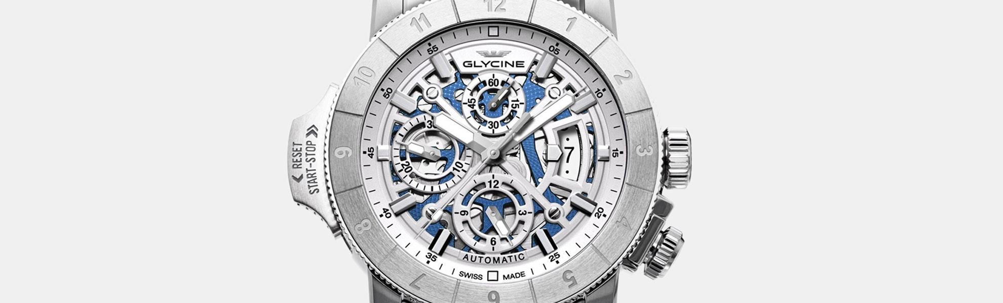 Glycine Airman Airfighter Skeleton Automatic Watch