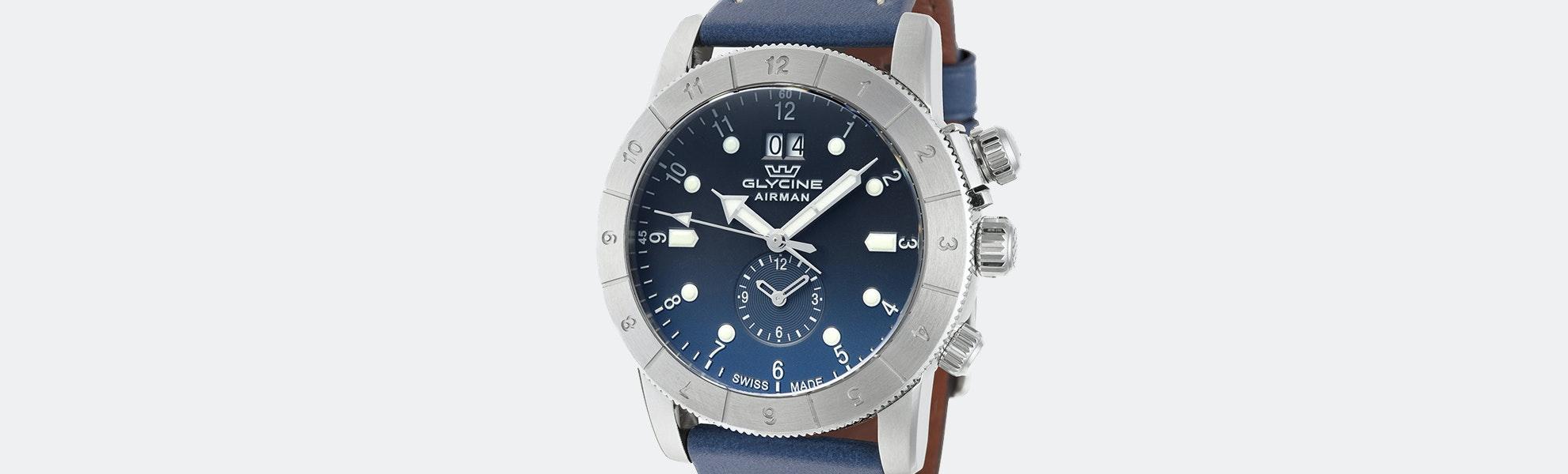 Glycine Airman Quartz Watch