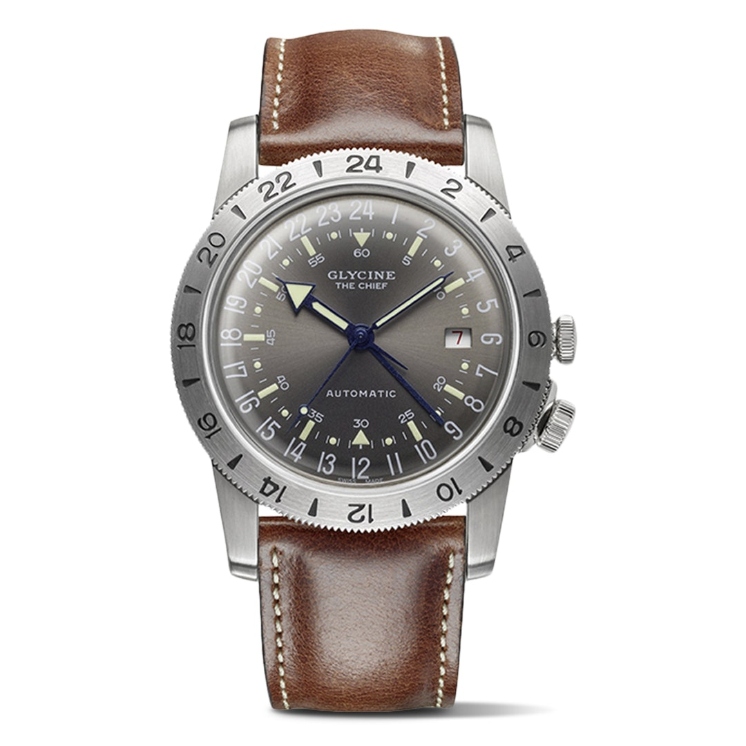 "Glycine Airman Vintage ""The Chief"" Automatic Watch"