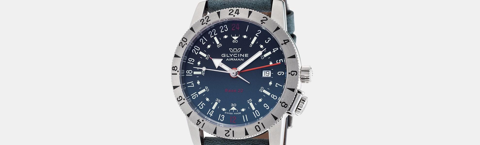 Glycine Airman Base 22 Automatic Watch