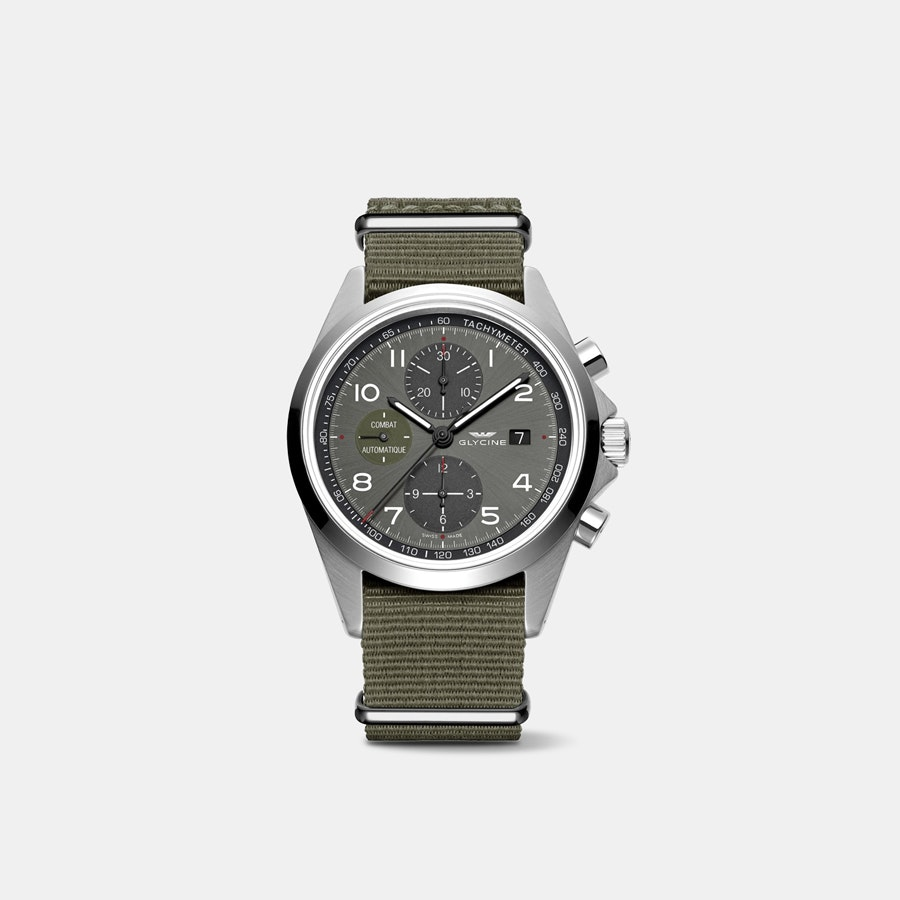 Glycine Combat Chronograph Automatic Watch