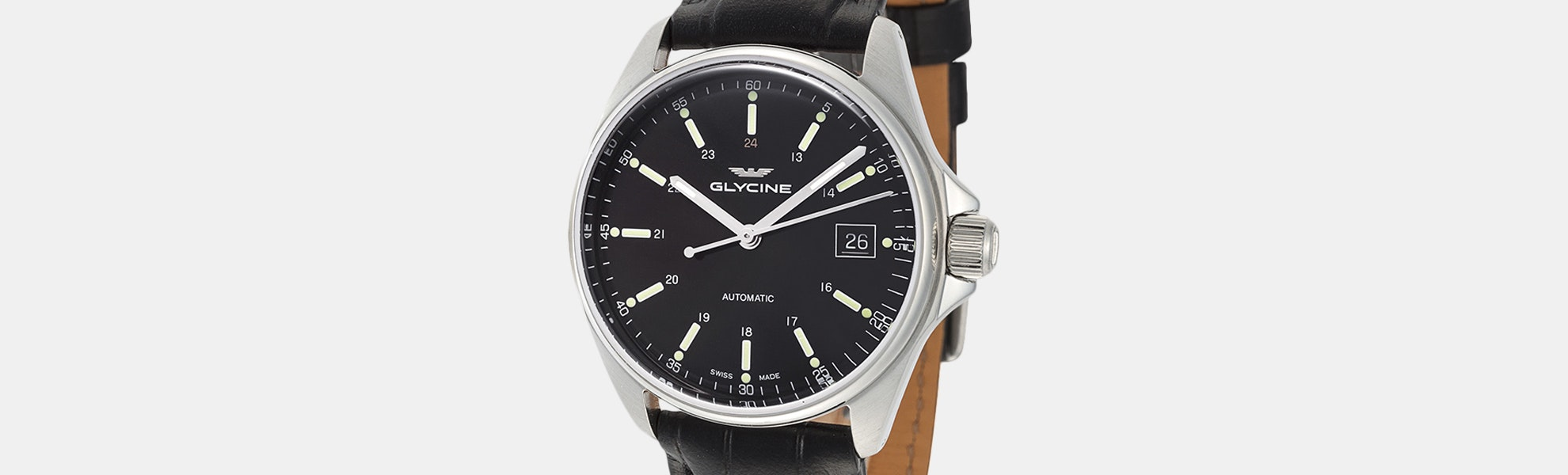 Glycine Combat 6 Classic Automatic Watch–Flash Sale