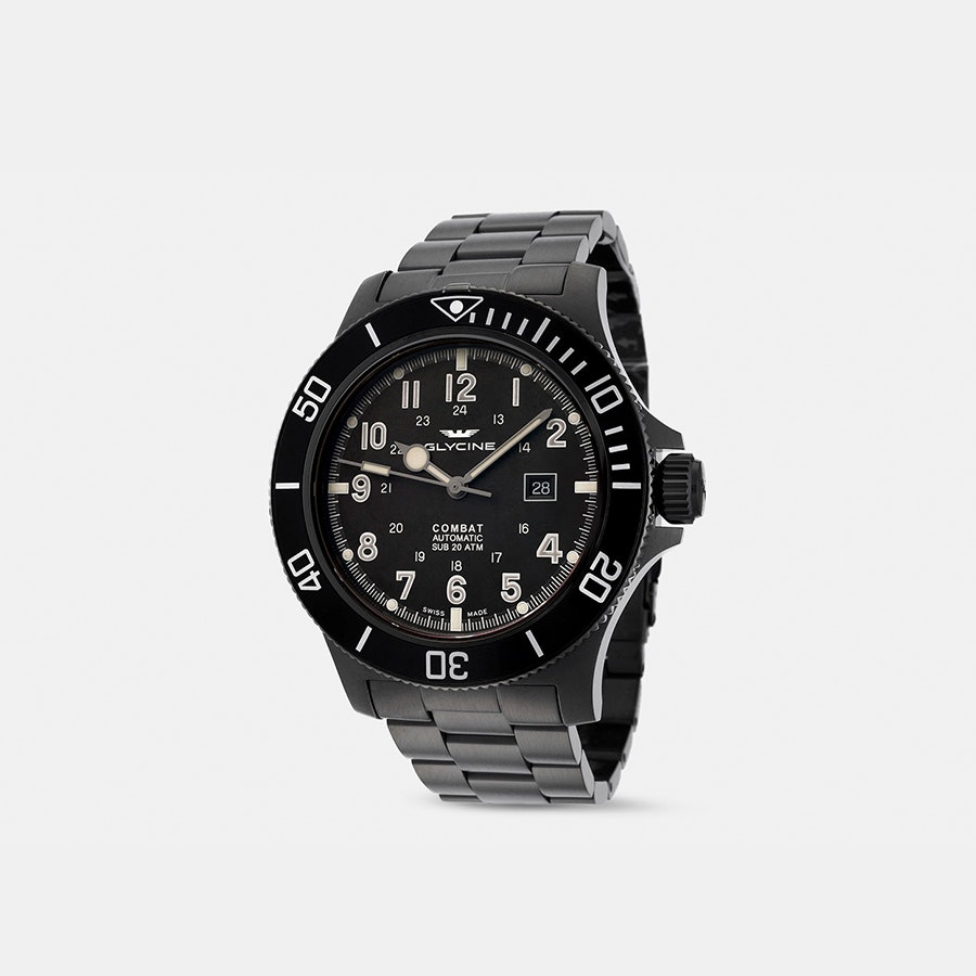Glycine Combat Sub 48mm Automatic Watch