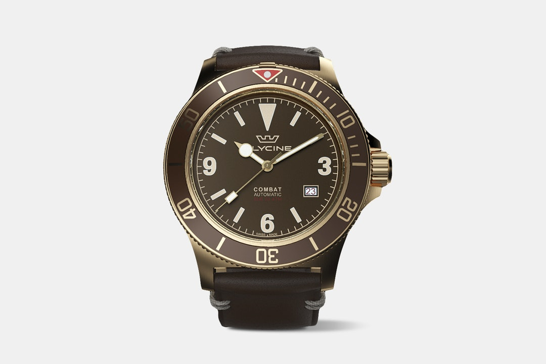 Glycine Combat Sub Bronze Watch – Drop Exclusive