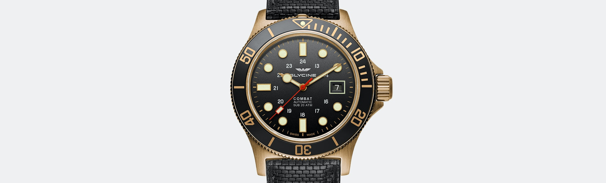 Glycine Combat Sub Bronze Automatic Watch