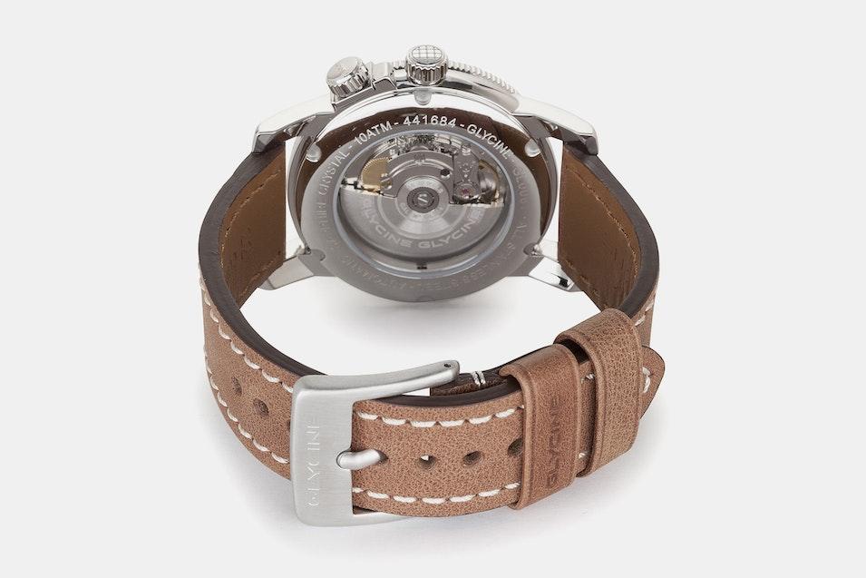double strap watch glycine double twelve watch price reviews massdrop