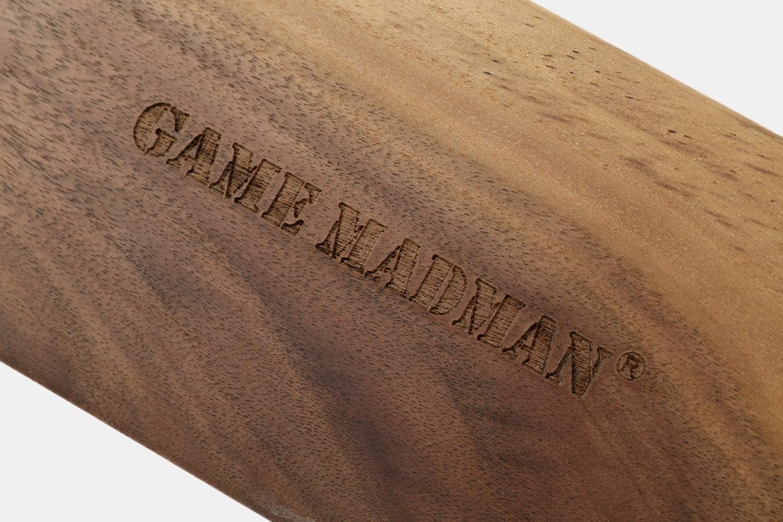 Game Madman Wooden Wrist Rest