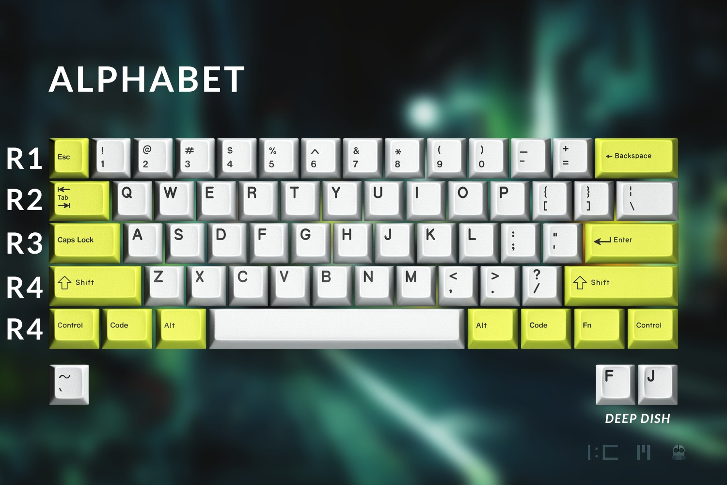 GMK 3Run Keycap Set