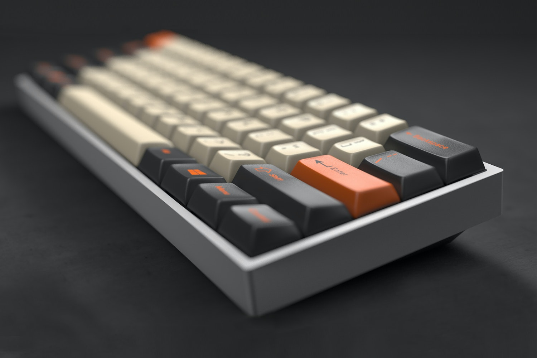 GMK Carbon Custom Keycap Set